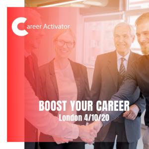 Boost Your Career wasztat Londyn