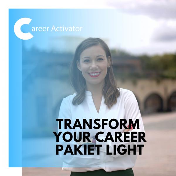 Transform Your Career proces light
