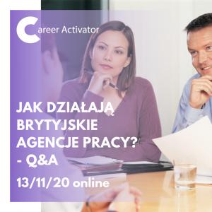 Jak działają brytyjskie agencje pracy? - Q&A
